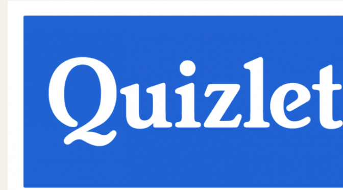 Learning to appreciate Quizlet Flashcards